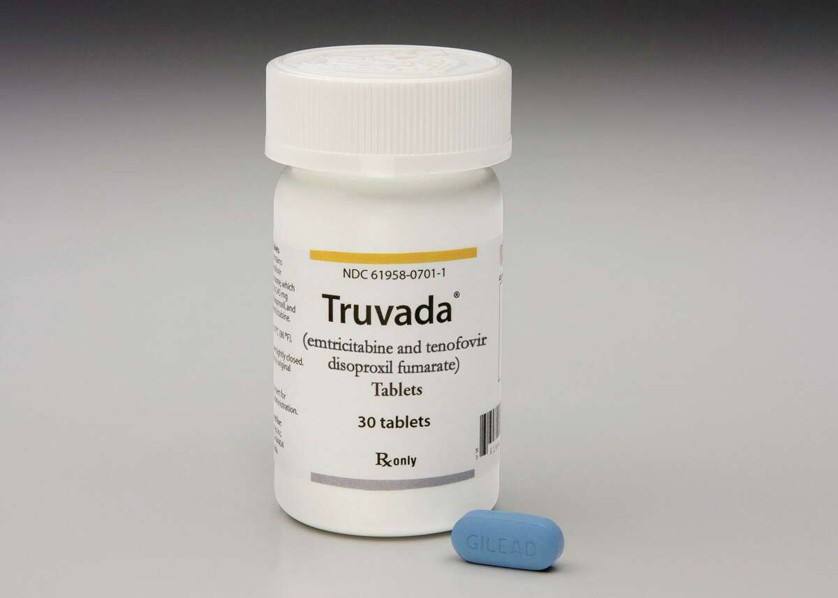 A bottle of the antiretroviral drug Truvada. (Abaca Press/TNS)