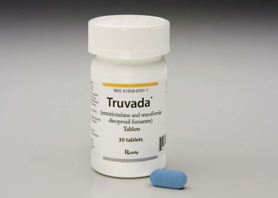 A bottle of the antiretroviral drug Truvada. (Abaca Press/TNS) Photo: Abaca Press / TNS / Abaca Press