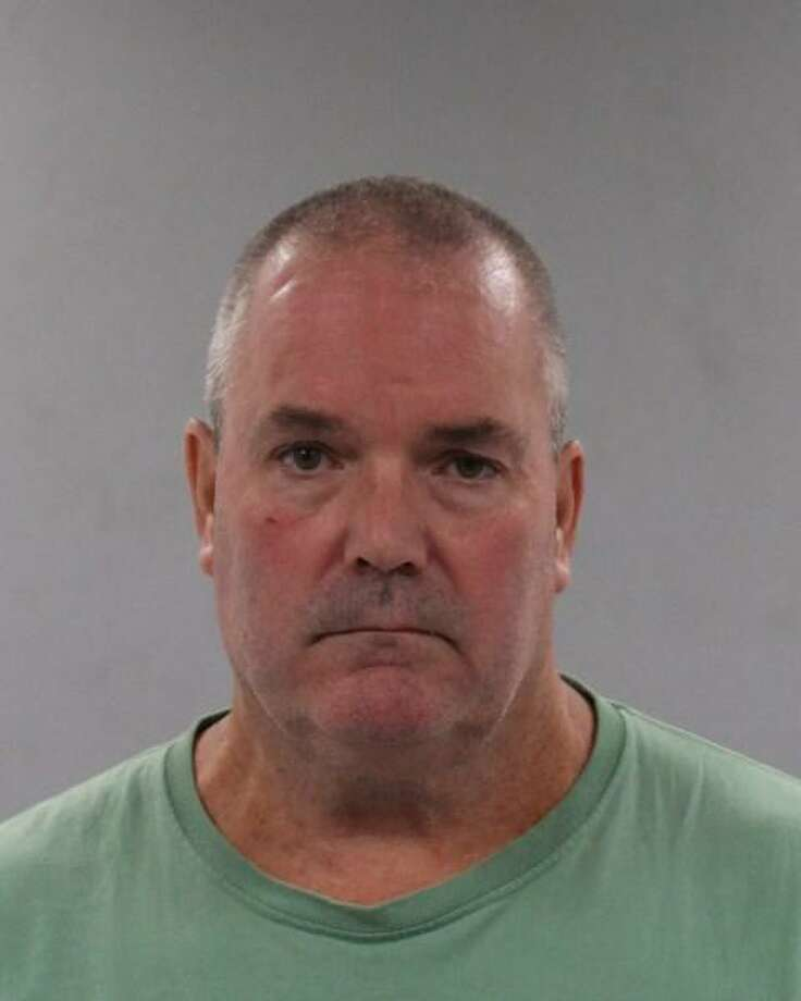 Gregory J. Plaia, 55, of Honey Hill in Canaan, Conn., was charged with second-degree threatening and second-degree breach of peace. Photo: Contributed Photo / Connecticut State Police