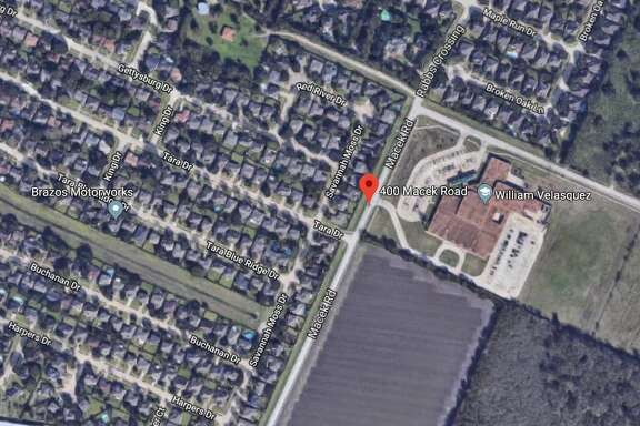 16-year-old was shot just before 3 p.m. in the 400 block of Macek Road next to Velasquez Elementary School.
