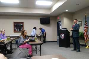 Corbin Rowe, member of the United States Secret Service with 22 years of experience, was the guest speaker for the Houston Northwest Chamber of Commerce Public Safety Forum on Aug. 22, 2019.