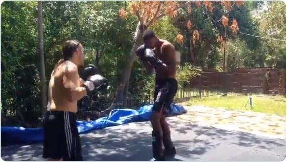 Never-before-seen video shows Tim Duncan's 'Sweat Angel Training' that readied him for 2014 AC issue