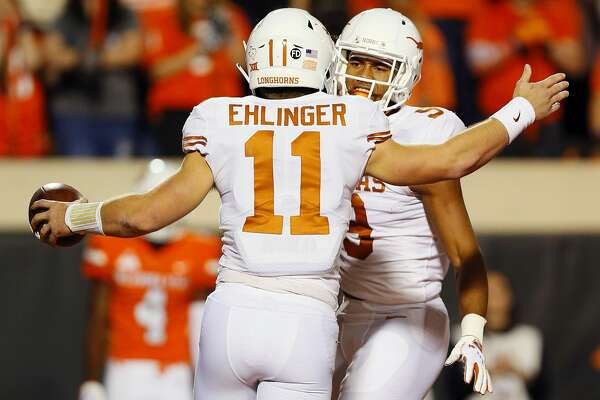 Quarterback Sam Ehlinger and wide receiver Collin Johnson are among Texas' contingent of five captains for the 2019 season.