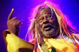 George Clinton: The world will be a less funky place when George Clinton retires from the road. Before that happens, San Antonio fans will have one more more chance to tear the roof off the sucker when Clinton and Parliament Funkadelic bring his farewell One Nation Under a Groove Tour to town. With Fishbone, Dumpstafunk and Miss Velvet and the Blue Wolf. 7 p.m. Friday, Aztec Theatre, 104 N. St. Mary's St. $39.50-$105 (VIP packages available). theaztectheatre.com - Jim Kiest