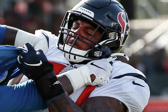 Having been been passed atop the depth chart, third-year Texans tackle Julién Davenport now finds himself battling for a reserve spot on the offensive line.