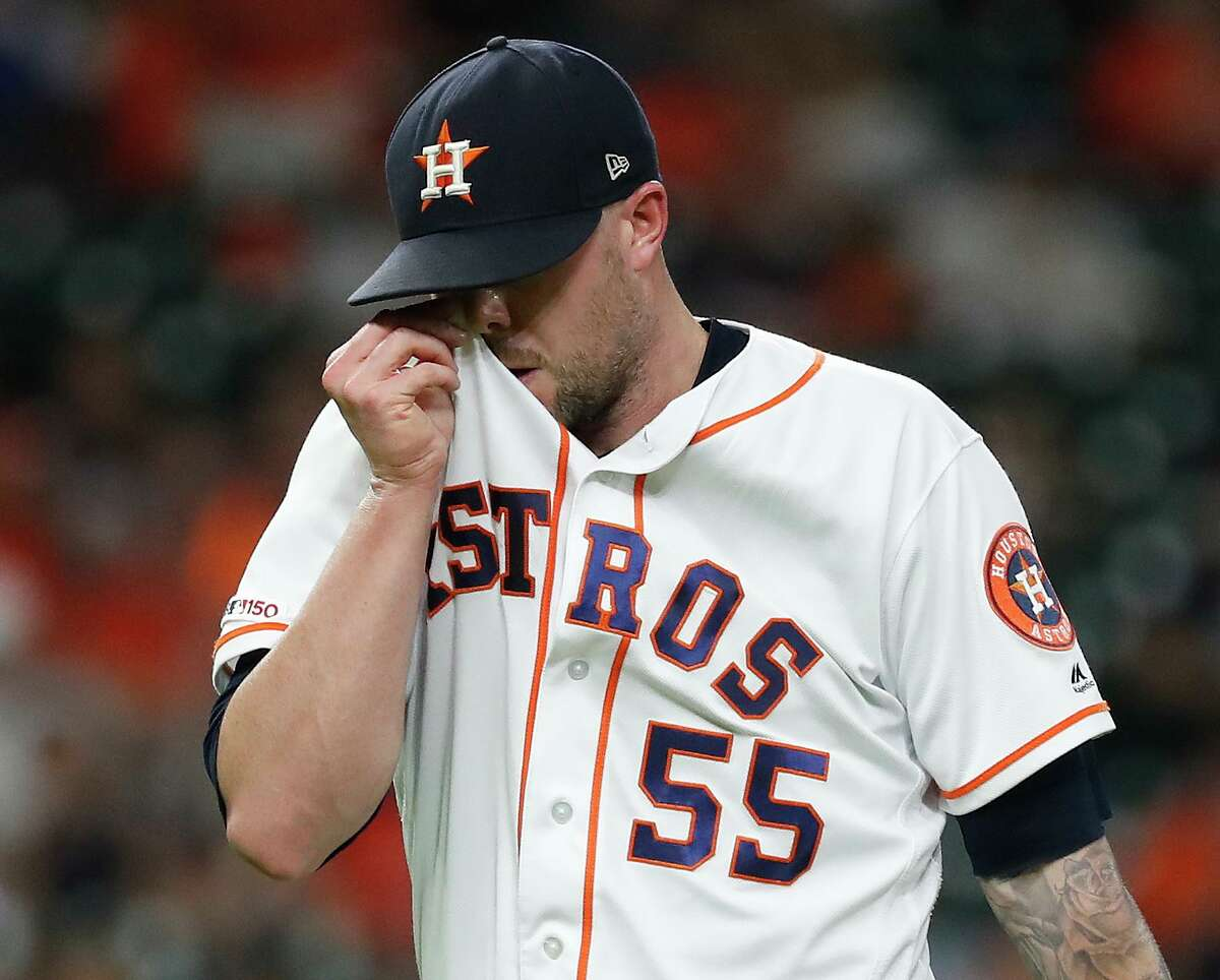 Ryan Pressly's status for the postseason leaves the Astros with some questions on the makeup of their bullpen.