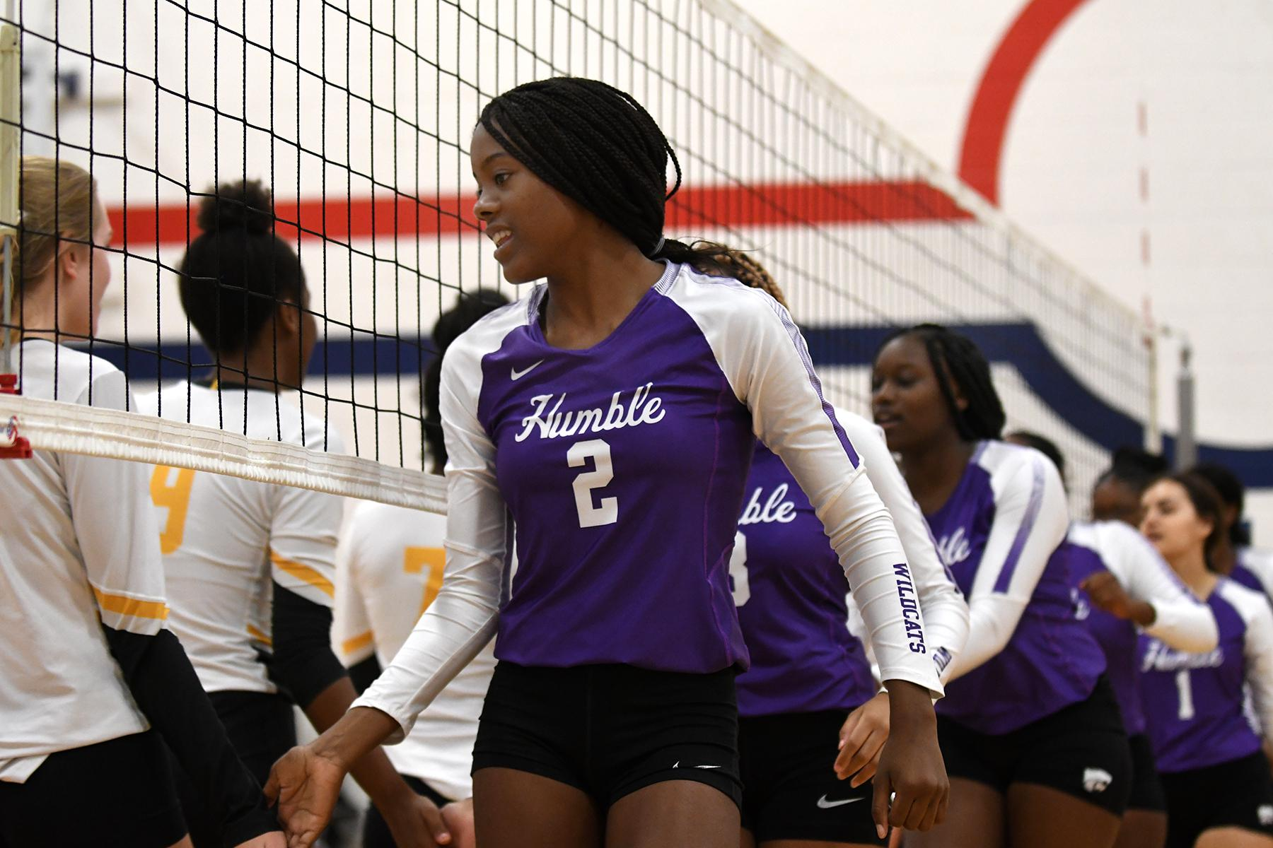 Volleyball: Humble looking for consistency heading into district play