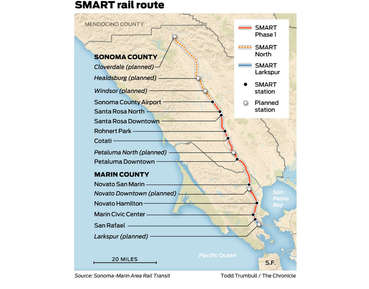 North Bay S Smart Train Beloved But Not Bustling Looks To Extend Sales Tax Sfchronicle Com This month's map of the month highlights bay area opportunity zones as designated by the state of california department of finance. north bay s smart train beloved but
