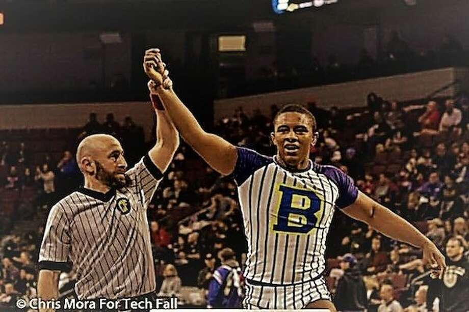 California Wrestler Jonovan is the first wrestler from the city of LA to win a national junior freestyle title. Photo: SportStars Magazine