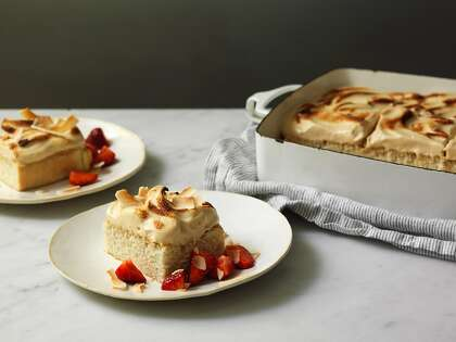 Recipe: Outerlands' Toasted Coconut Tres Leches Cake