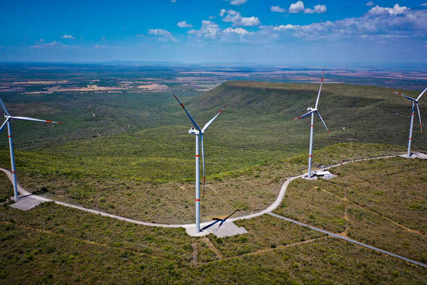 Engie and Tamaulipas state officials held a Wednesday afternoon inauguration ceremony for the the Tres Mesas III Wind Farm near Llera, about 240 miles south of Brownsville.