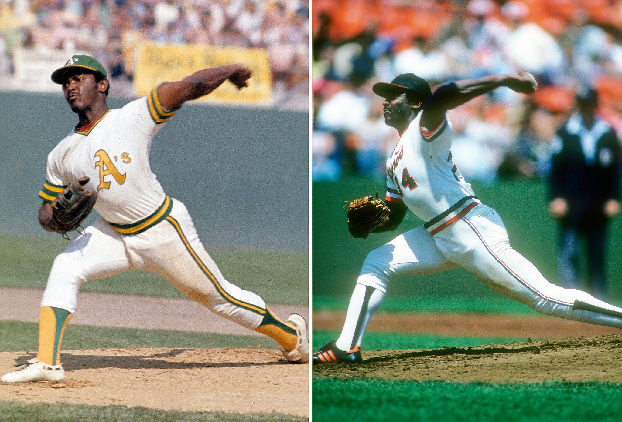 86346de4a Of 92 players to appear for both Giants and A's, Vida Blue stands ...