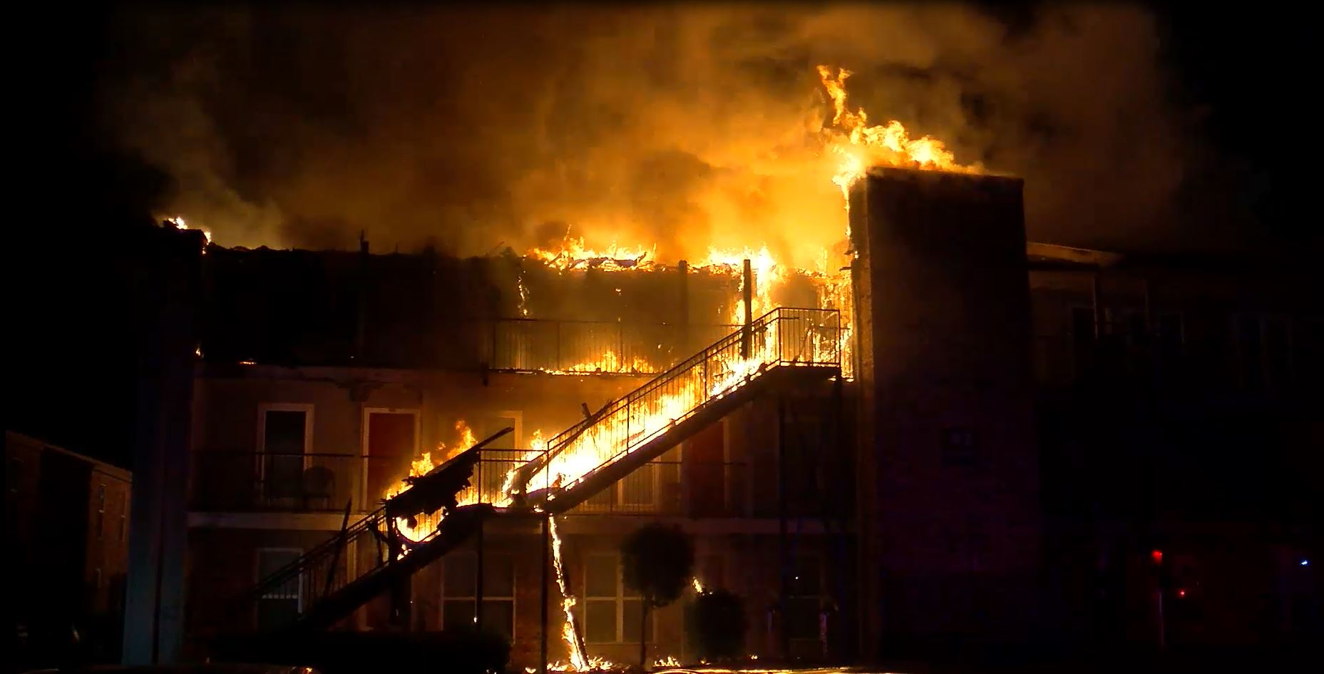 2-alarm fire near Humble destroys at least 24 homes, displaces 27 people