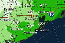 Meteorologists say a high likelihood of thunderstorms Friday, Aug. 23, 2019, kicks off non-stop chances for showers until at least Sunday.