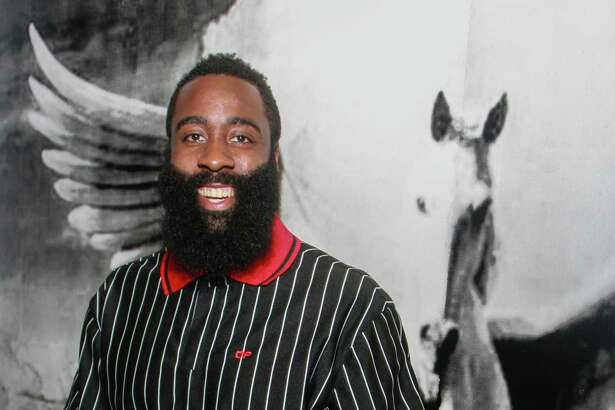 EMBARGOED FOR SOCIETY REPORTER UNTIL AUGUST 25 James Harden at the Webster where he hosted family and friends to kick off his annual James Harden Weekend Celebrations on August 22, 2019.
