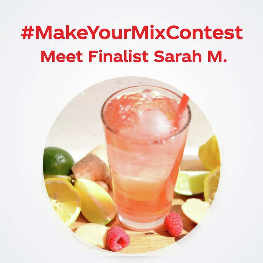 Sarah M., of New Milford, created the drink and is a finalist for a national competition through Coca-Cola Freestyle. Photo: Contributed Photo /