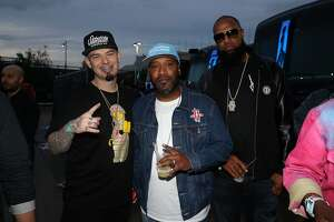 EAST RUTHERFORD, NJ - JUNE 10:  Paul Wall, Bun B and Slim Thug attends Summer Jam 2018 at MetLife Stadium on June 10, 2018 in East Rutherford, New Jersey.  (Photo by Shareif Ziyadat/FilmMagic)
