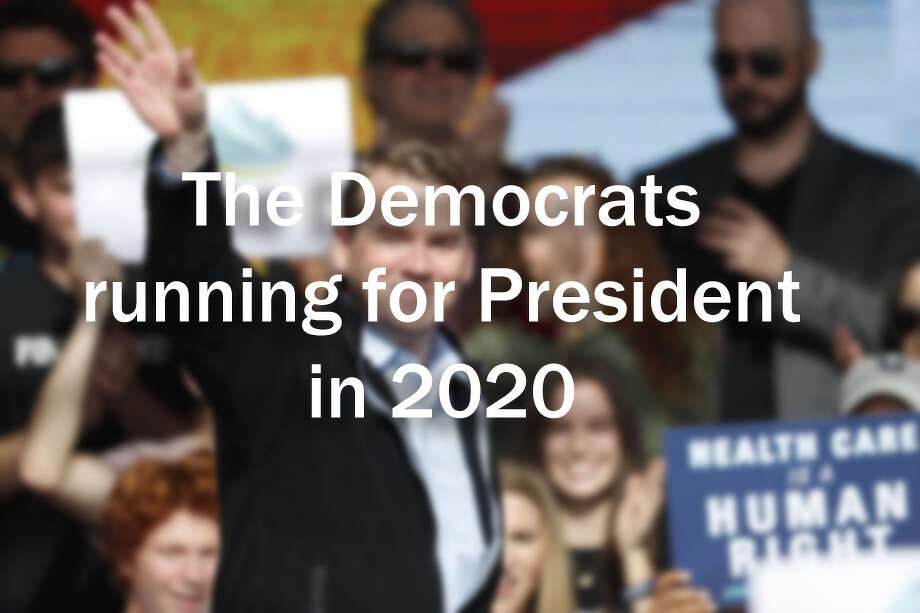 Who are the 2020 Democratic presidential candidates? Photo: AP