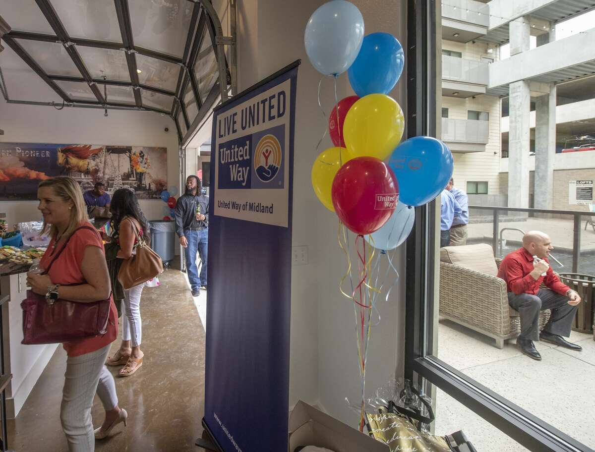 The United Way of Midland held its 2019 campaign kickoff Thursday, August 22, 2019, at the Wall Street Lofts. Jacy Lewis/Reporter-Telegram