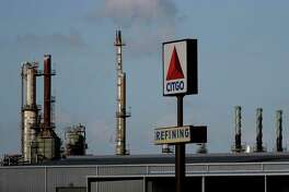 A Citgo refinery in seen in Corpus Christi, Texas, Wednesday, Aug. 21, 2019. (AP Photo/Eric Gay)
