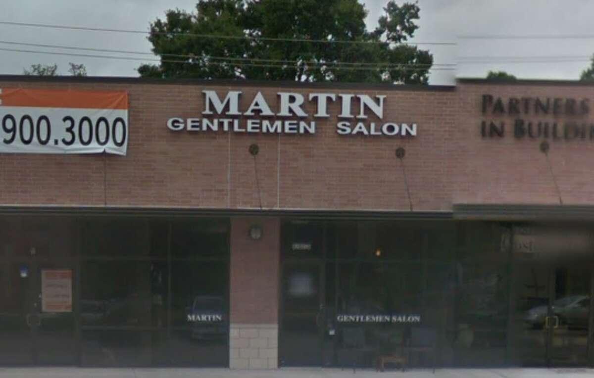 14. Martin's Gentleman's Salon Address: 4102 Richmond Ave D, Houston, TX Stars: 4.5