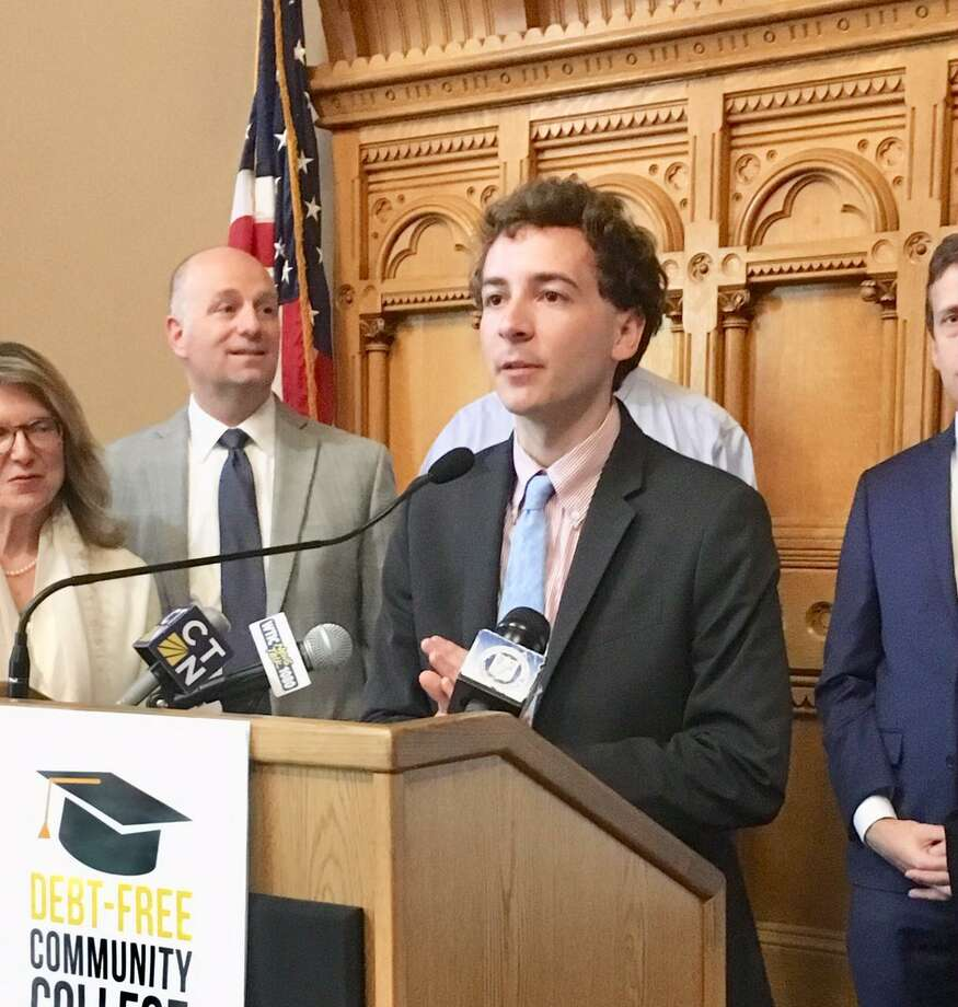 State Sen. Will Haskell, (D-26) free community college program has gotten the green light. Photo: Linda Conner Lambeck /Hearst Connecticut Media