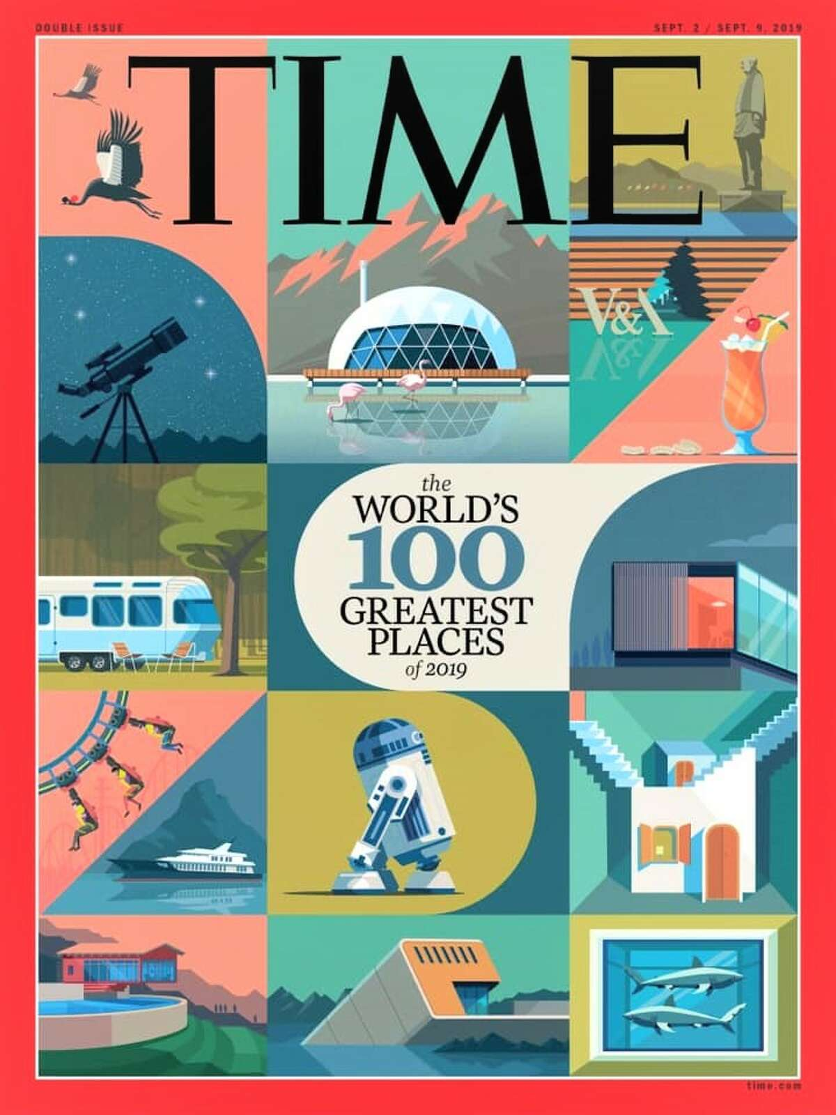 Time Magazine's 'The World's 100 Greatest Places 2019' list includes Indigo.