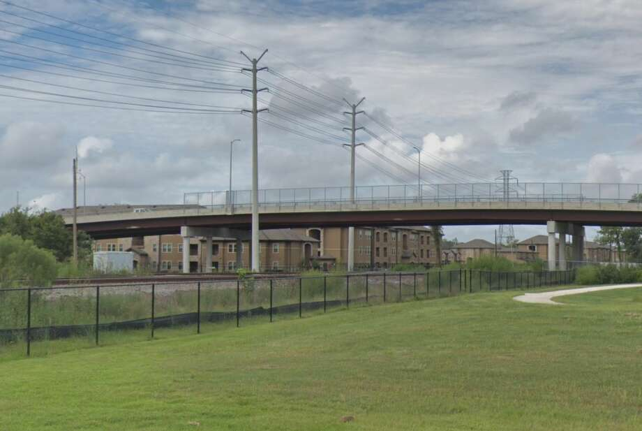 A bridge in the 6600 block of Hirsch Road is seen on Google Maps Street View in September 2018. Photo: Google Maps