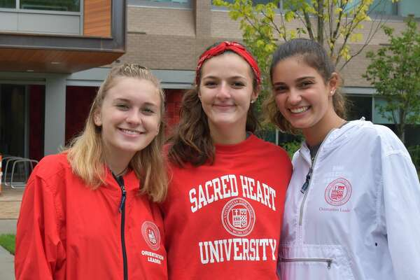 Students moved onto Sacred Heart University's campus in Fairfield on August 23-26, 2019. Were you SEEN moving on August 23