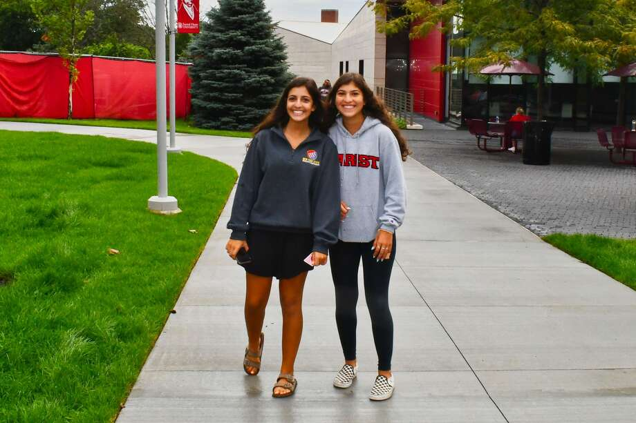 Students moved onto Sacred Heart University's campus in Fairfield on August 23-26, 2019. Were you SEEN moving on August 23 Photo: Vic Eng / Hearst Connecticut Media Group