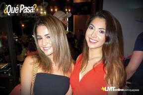Viviana Garza and Anagaby Medina at Costa Grill Friday, August 23, 2018