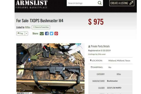 Want to buy a gun at steep discount? Ask a Texas state