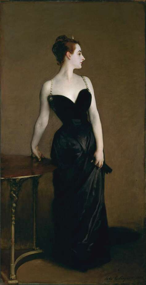 """Madame X"" by artist John Singer Sargent, 1883-1884, is among the works scheduled to be discussed in ""Artists Abroad,"" the first lecture in ""The Road to Modern Art"" ArtScapades series, at the New Canaan Library Monday, Sept. 9. Photo: Contributed Photo / New Canaan Library / New Canaan Advertiser Contributed"