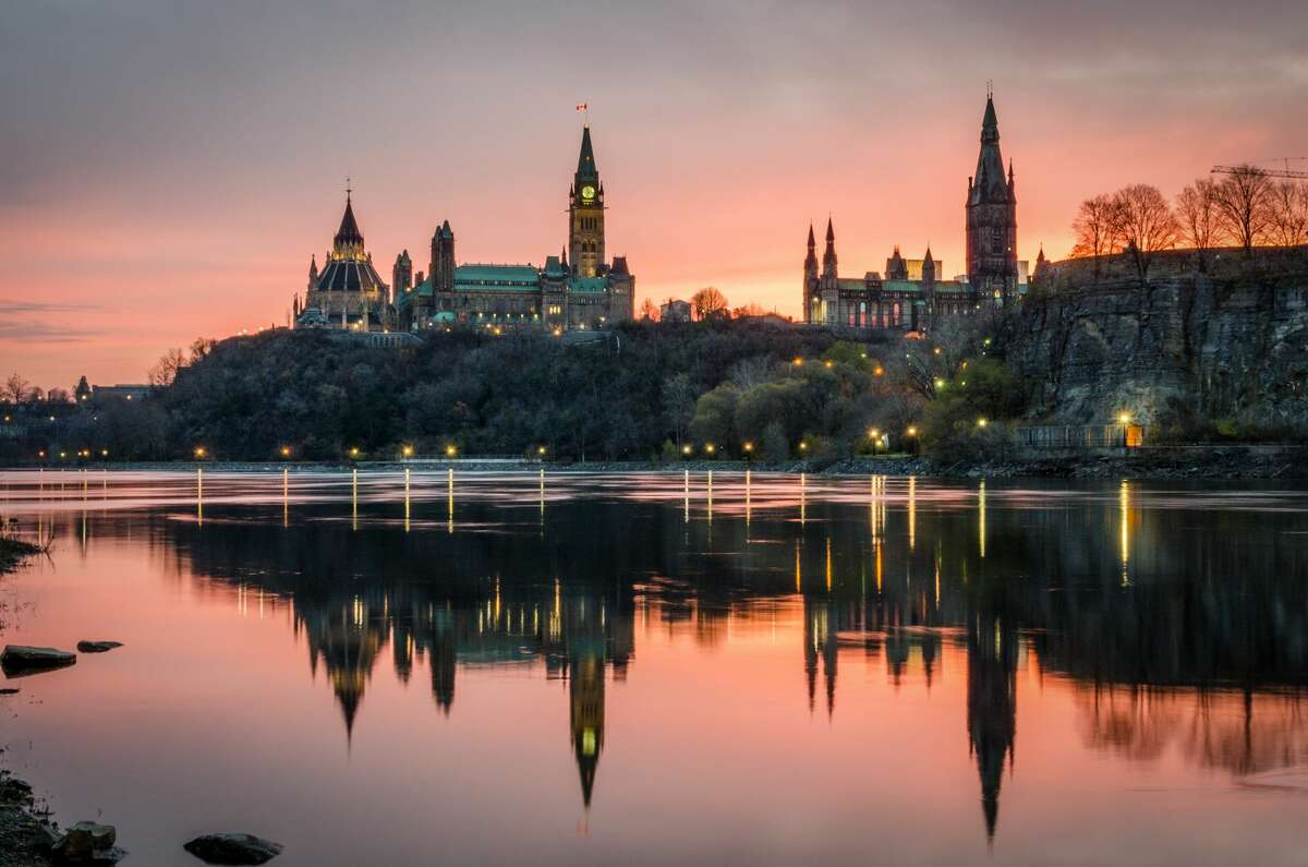 Childhood trips to Canada sparked an early interest in international travel. Pictured here are Canada's gloriously gothic Parliament buildings in Ottawa, which looked like something out of the Wizard of Oz to a curious 7 year old.