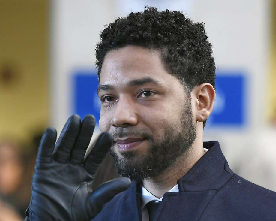 A special prosecutor will review the decision to drop charges against Jussie Smollett that accused him of staging a racist, anti-gay attack against himself. Photo: Paul Beaty / Associated Press