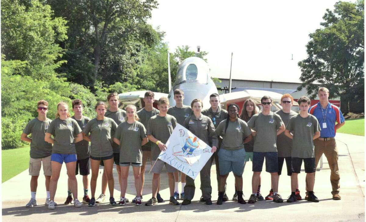 Ridgefield resident Jaquelyn Mantione was part of Team Argonauts this summer at at the U.S. Space and Rocket Center in Alabama.
