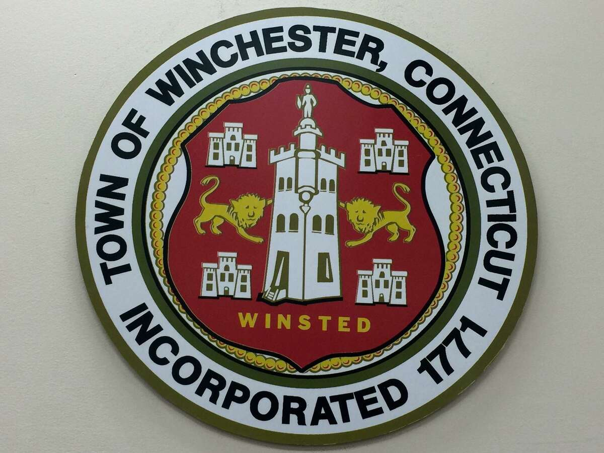The town seal of Winsted.