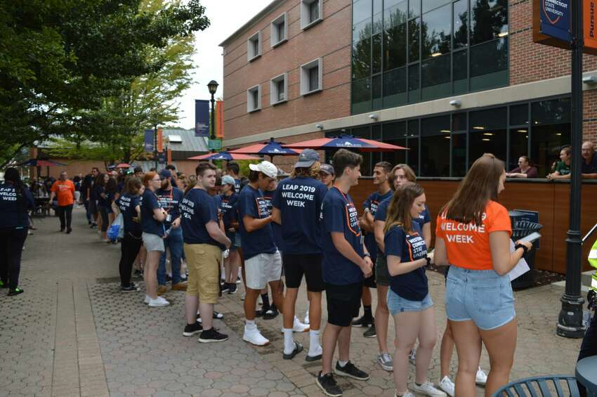 Students moved onto Westconn's campus in Danbury on August 23-26, 2019. Were you SEEN moving on August 23?