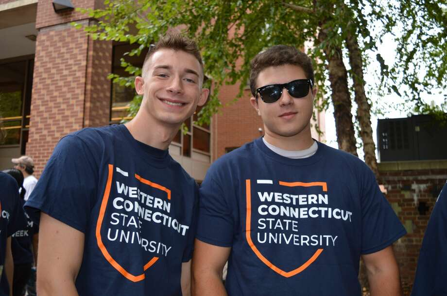 Students moved onto Westconn's campus in Danbury on August 23-26, 2019. Were you SEEN moving on August 23? Photo: Todd Tracy