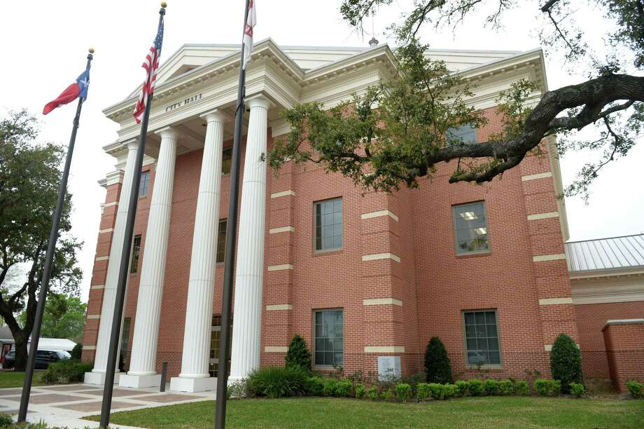 On Monday, March 23, the Katy City Council voted to postpone the May city council elections and declared a public health emergency. The election will now take place in November. The council also passed an order prohibiting community gatherings. Shown here is Katy City Hall. Photo: Craig Moseley, Houston Chronicle / Staff Photographer / ©2019 Houston Chronicle