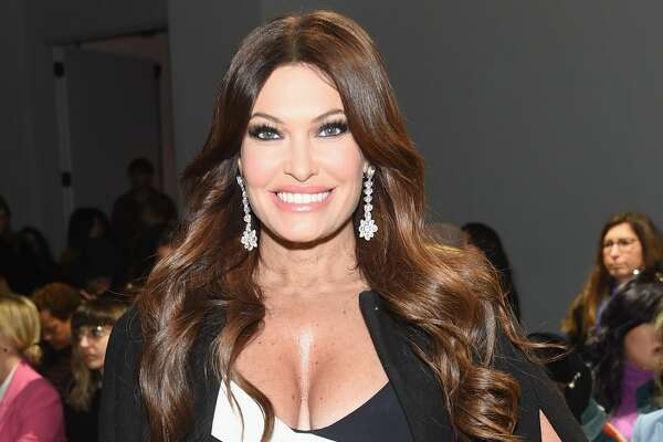 Kimberly Guilfoyle attends the Chiara Boni La Petite Robe front row during New York Fashion Week: The Shows at Gallery II at Spring Studios on February 8, 2019 in New York City.