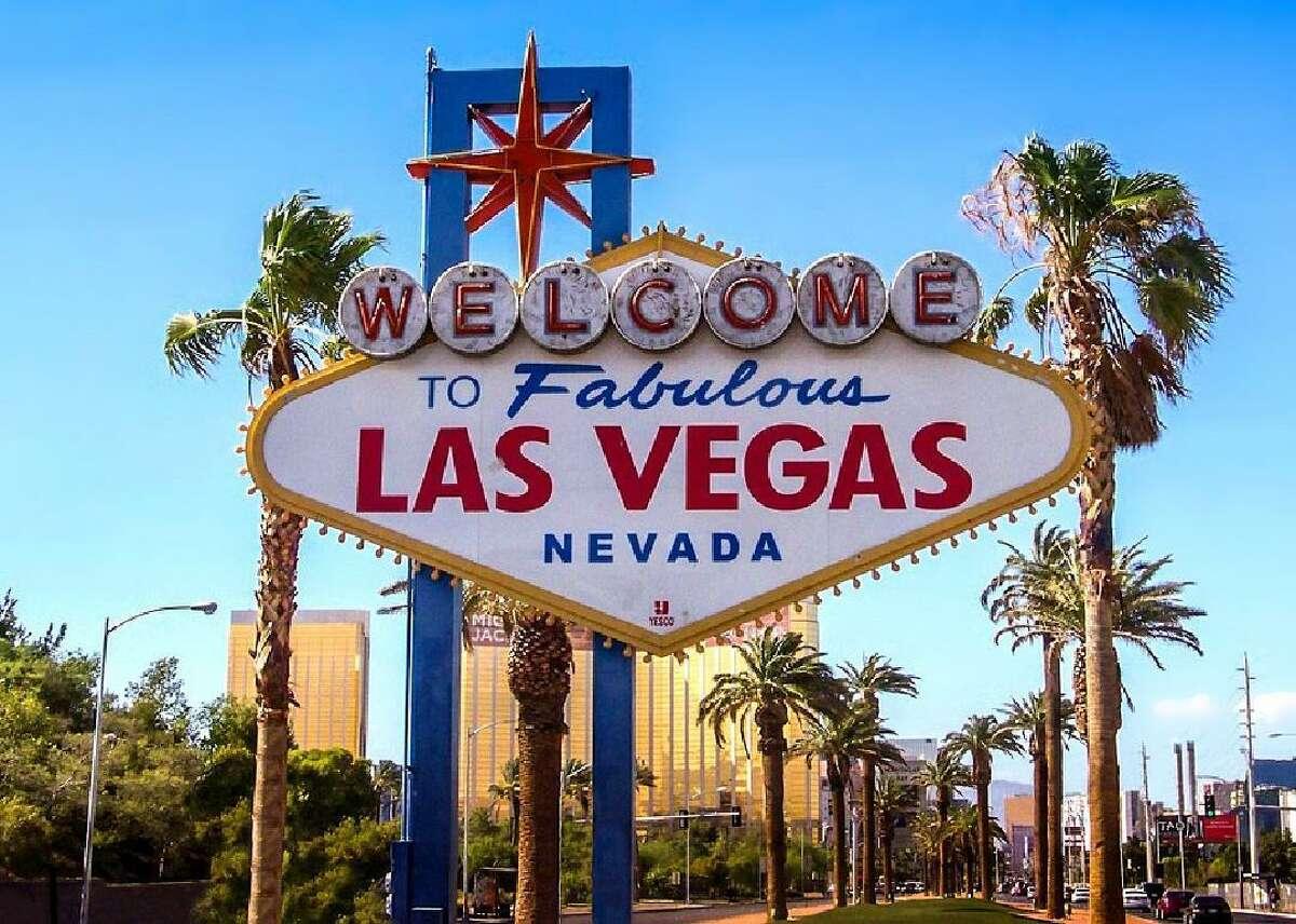 Destination: Las Vegas Cost: $53 Airline: Frontier Departure Date: Thursday, Nov. 7 Type: round trip, nonstop