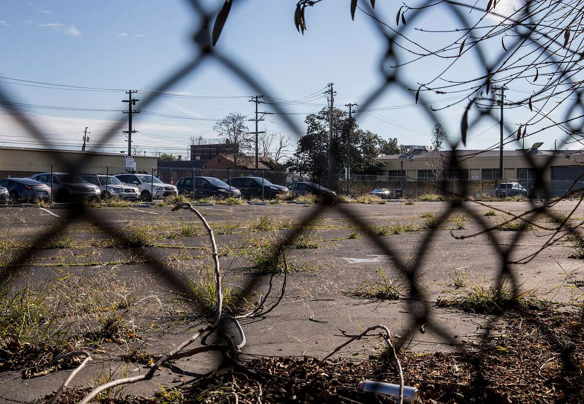 A parking lot located at 105 S. Montgomery Street is seen near Diridon Station in San Jose, Calif. Friday, Jan. 4, 2019.