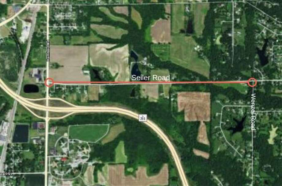 Work is expected to start Sept. 3 on Seiler Road east of Godfrey.