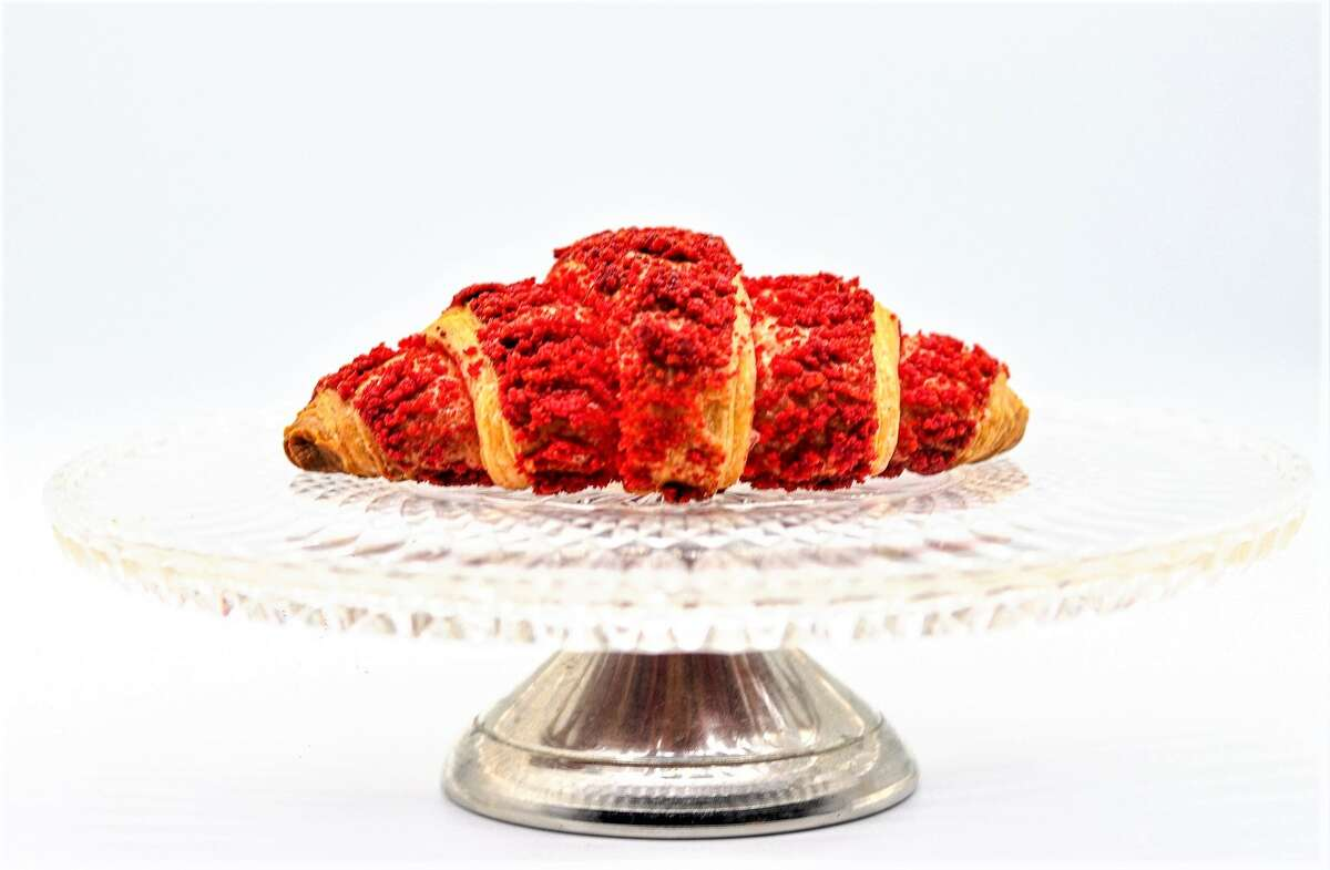 The Hot Cheetos croissant at Koffeteria.
