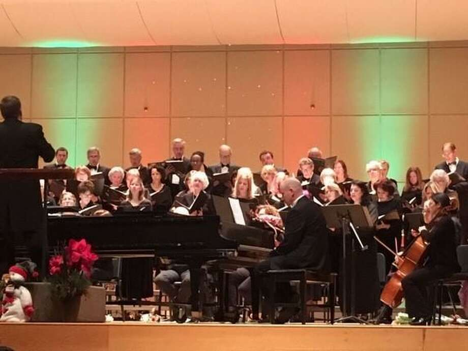 The Norwalk Community Chorale is seeking participants in preparation for its Christmas concert on Saturday, Dec. 7. Pictured is the 2018 Christmas concert. Photo: Norwalk Community Chorale / Contributed Photo