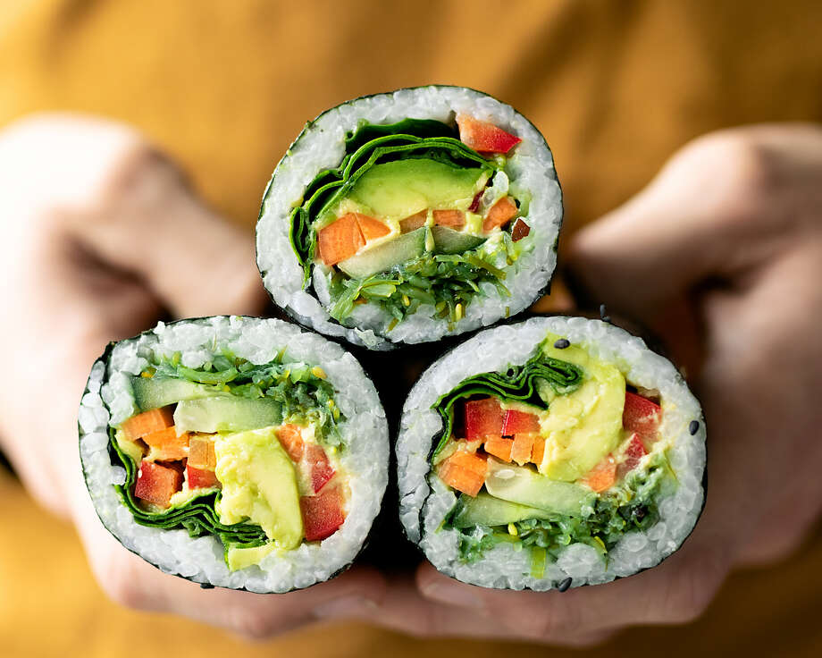 From sushi burritos to Hawaiian poke, click through the slideshow for all the trending snacks, and where you can find them. Photo: Ella Olsson Via Flickr, Https://www.freshnlean.com/recipes/