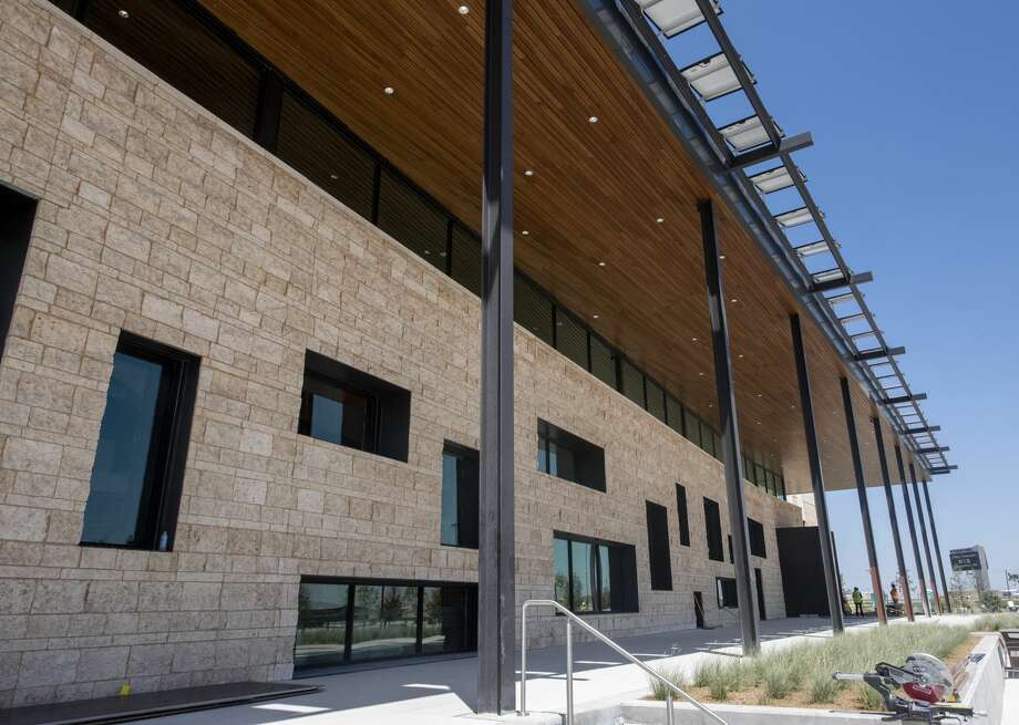 The new engineering building at the University of Texas of the Permian Basin photographed on Tuesday, August 20, 2019, on the Midland campus. Photo: Jacy Lewis/Reporter-Telegram
