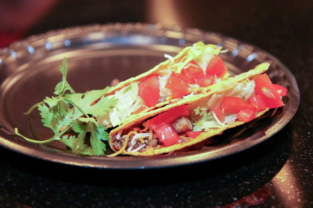 Beef tacos at Mex on Main in Trumbull.