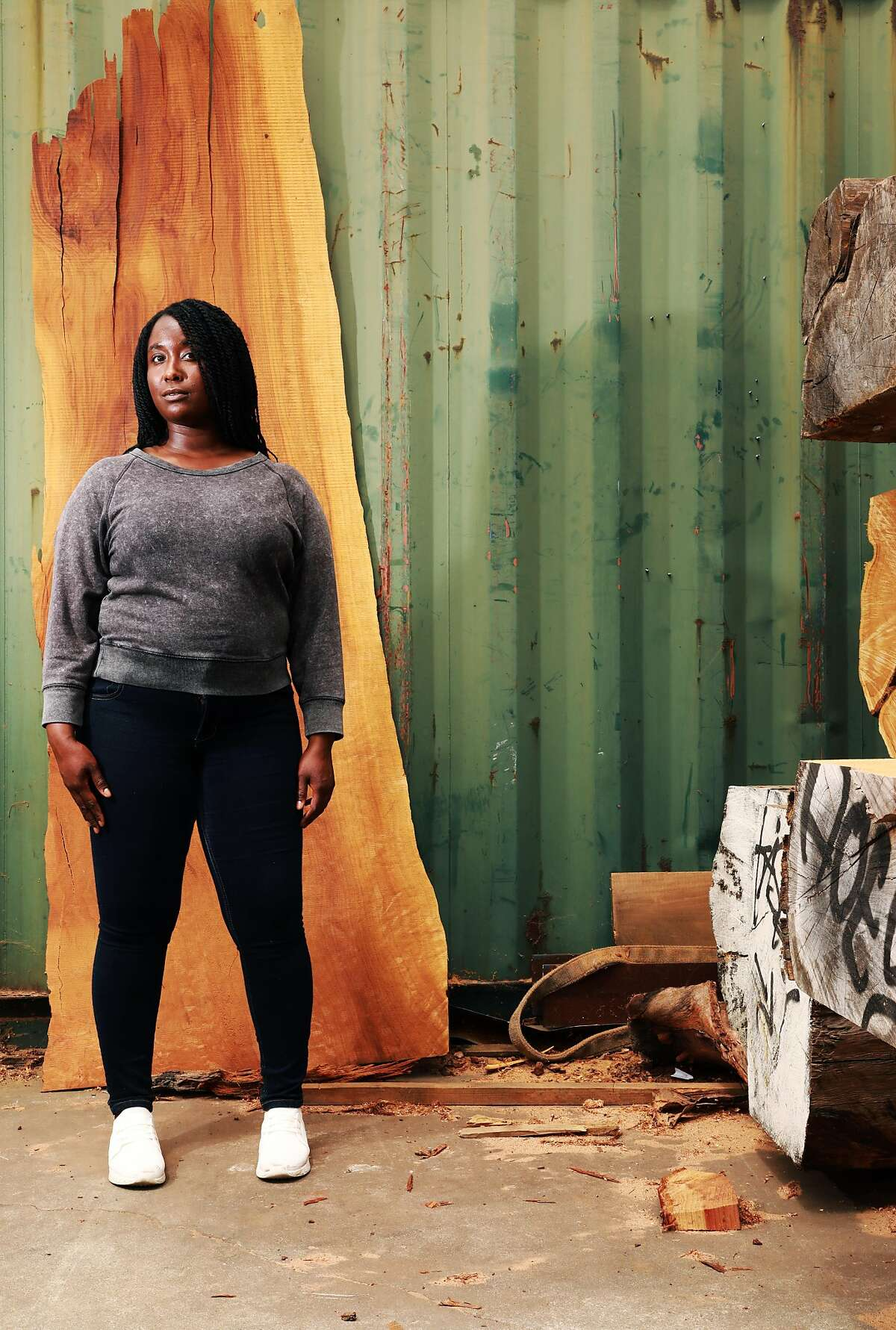 Oakland visual artist Binta Ayofemi wants to create a black commons for the city, and she's turning to food as her medium.